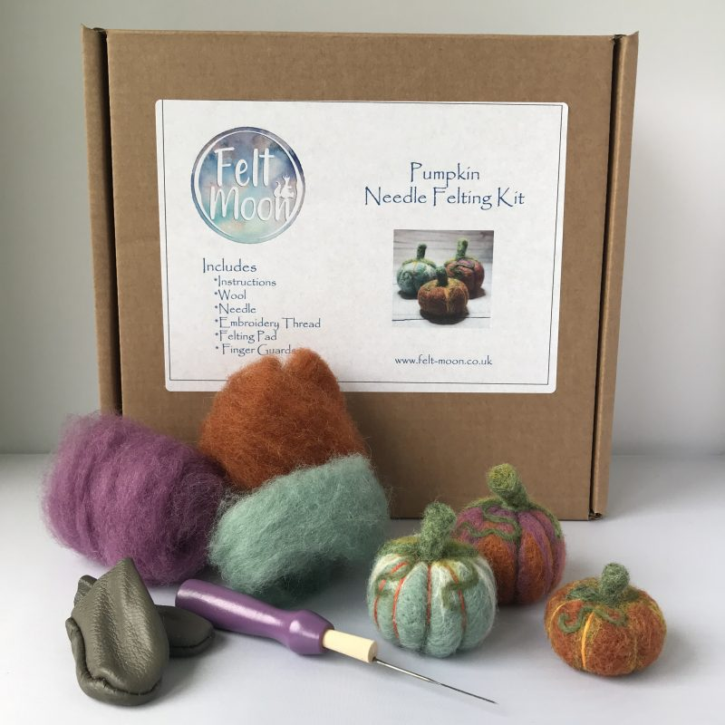 Pumpkin Needle Felt Kit